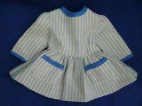 alte Puppenkleidung - Wollkleid unbespielt ca.45er Größe Masse-/ Celluloidpuppe