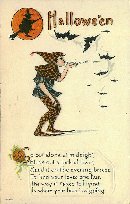 old halloween poems