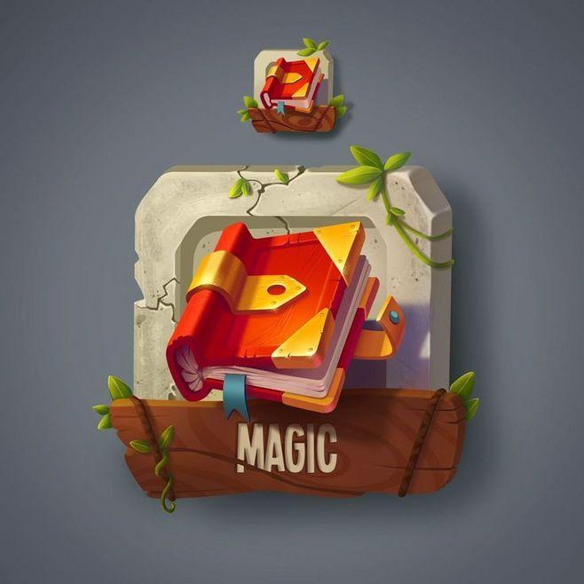 #книжка #иконка 游戏UI资源