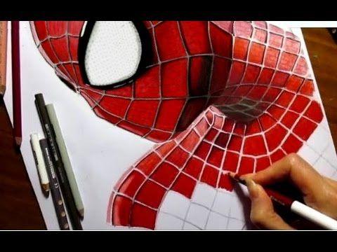 Speed Drawing of the Amazing Spider-Man 2 | Jasmina Susak How to Draw Spiderman - YouTube