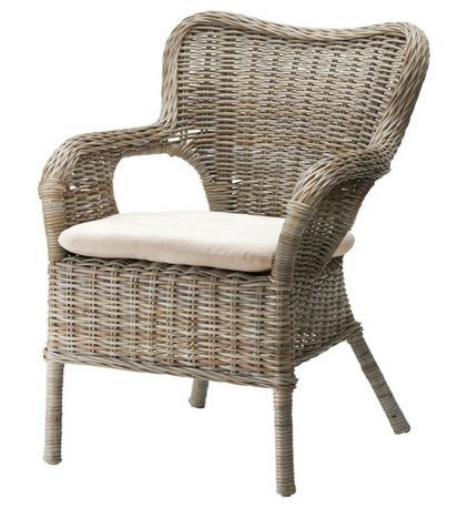Dining Room - IKEA Wicker Chair