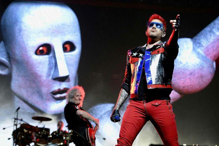 "Adam Lambert - 2017 - 40th Anniversary of the QUEEN album, ""News of the World."""