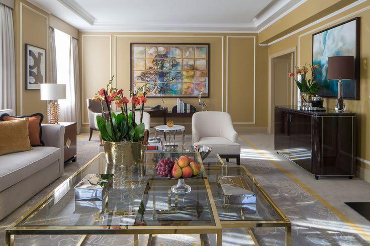 Grosvenor House Hotel, London Designers: GA Design Photography: www.richardwaite.com