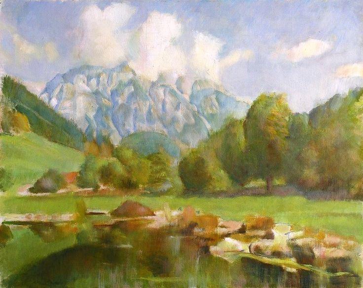 Alpesi táj, Werfenweng