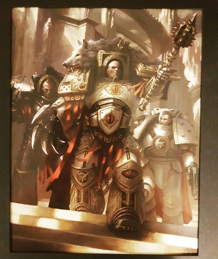 Wow! #limitededition print from #GamesWorkshop. The #Warmaster #HorusLupercal, #Primarch and #Legion #Commander of the #LunarWolves. #30k #HorusHeresy #BlackLibrary