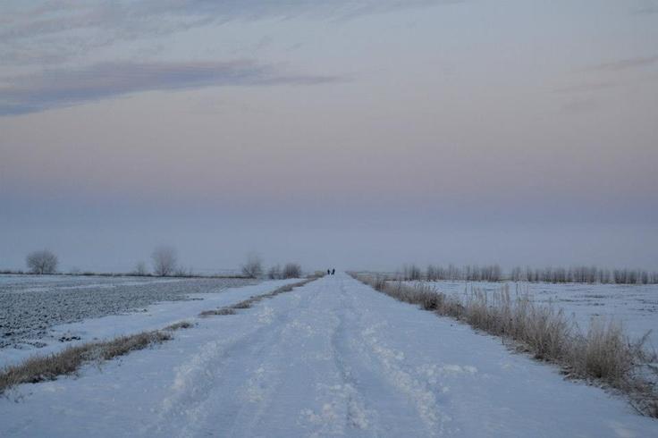 On the road (Söderfjärden, FInland)