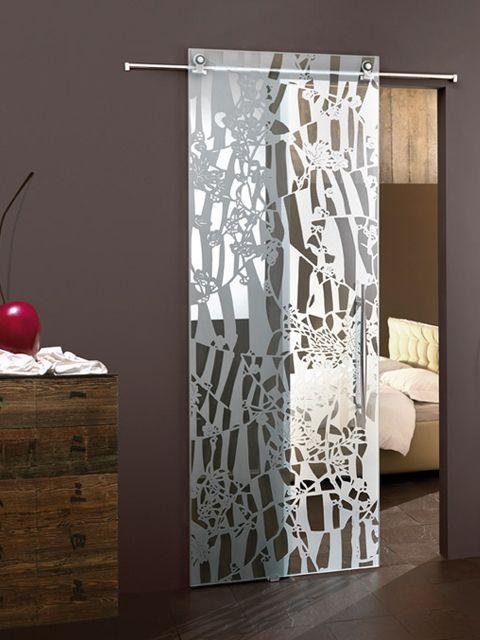 M s de 25 ideas incre bles sobre puertas de vidrio en for Vidrios decorados para puertas interiores