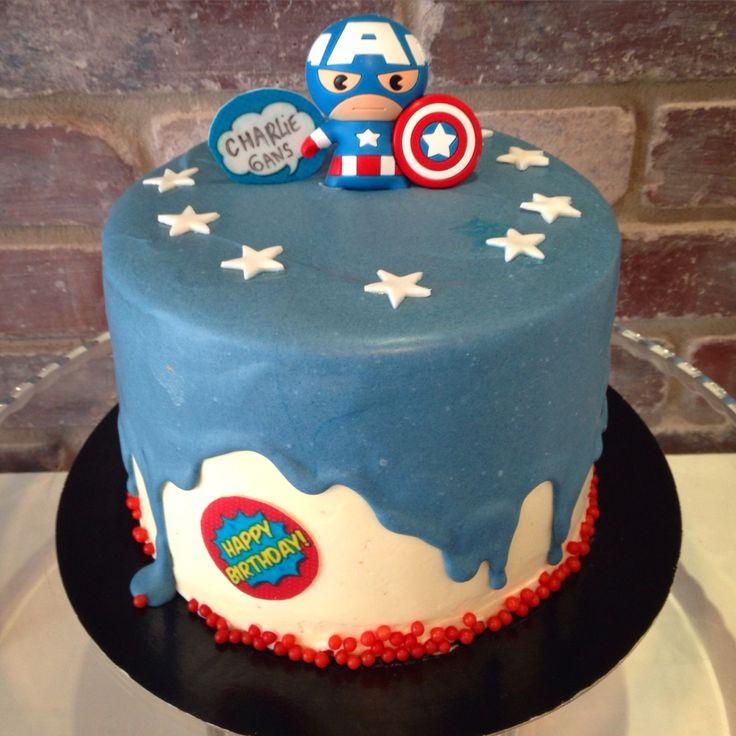 Decorated Drip Birthday Cakes