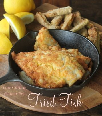 1199 best low carb images on pinterest low carb recipes for Carbs in fried fish