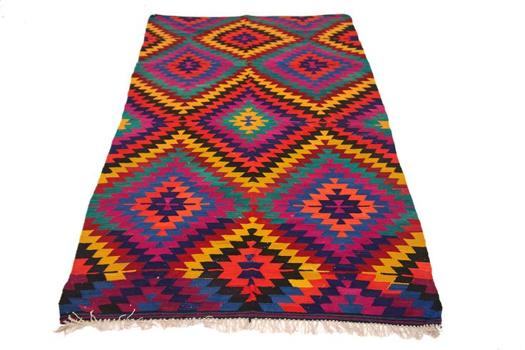 Vintage Turkish Kilim Rugs and Pillows - KILIMRUGAVENUE<br />​FREE SHIPPING
