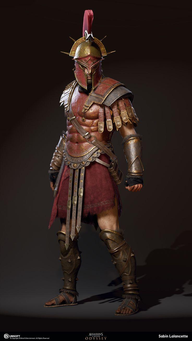 ArtStation - Alexios/Kassandra Outfit - Spartan War Hero ...