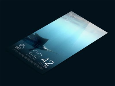 Jolla : Sailfish OS - Redesign - Part 1 - The Lock Screen