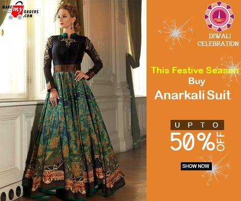 This Festive season Buy Attractive Designer #Anarkali Suit https://www.makemyorders.com/women/clothing/ethnic-wear…