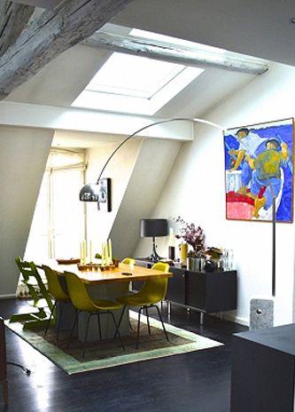 NEW HOME FOR EXCHANGE Paris, France . . . . . . . . . . . . . . Eating Designer . . . . . . . . . . . . 150 m² - 1614 sq ft / Topfloor in the Marais . . . . . . . . . . . . . . . . . . behmm.com/180j3hW