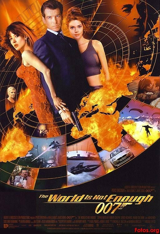 The World Is Not Enough (1999)  More boat chases in the pre-title sequence, but with a rather explosive ending.