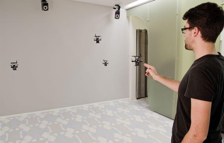 Se da a conocer sistema de displays auto-levitantes, que permiten interacción física con objetos virtuales flotantes  www.CityCali.com