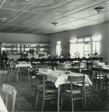 g Ca' Savio restaurant in the Sixties