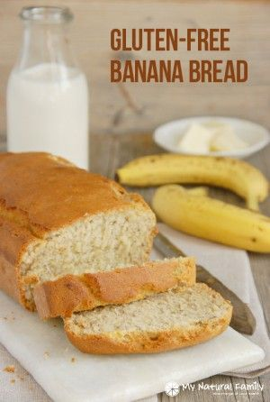 This easy banana bread recipe is gluten-free, dairy free, nut free, meat free, all natural, and easy on the budget with a great texture.