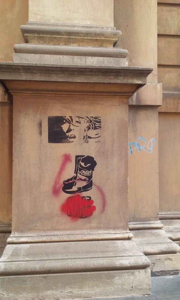 Street art, Kredytowa street, #Warsaw /  ul. Kredytowa, #Warszawa, fot. K.Sielicka, 2015 #streeart