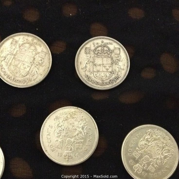 MaxSold - Auction: Mississauga Downsizing Online Auction 22 Canadian Half Dollars