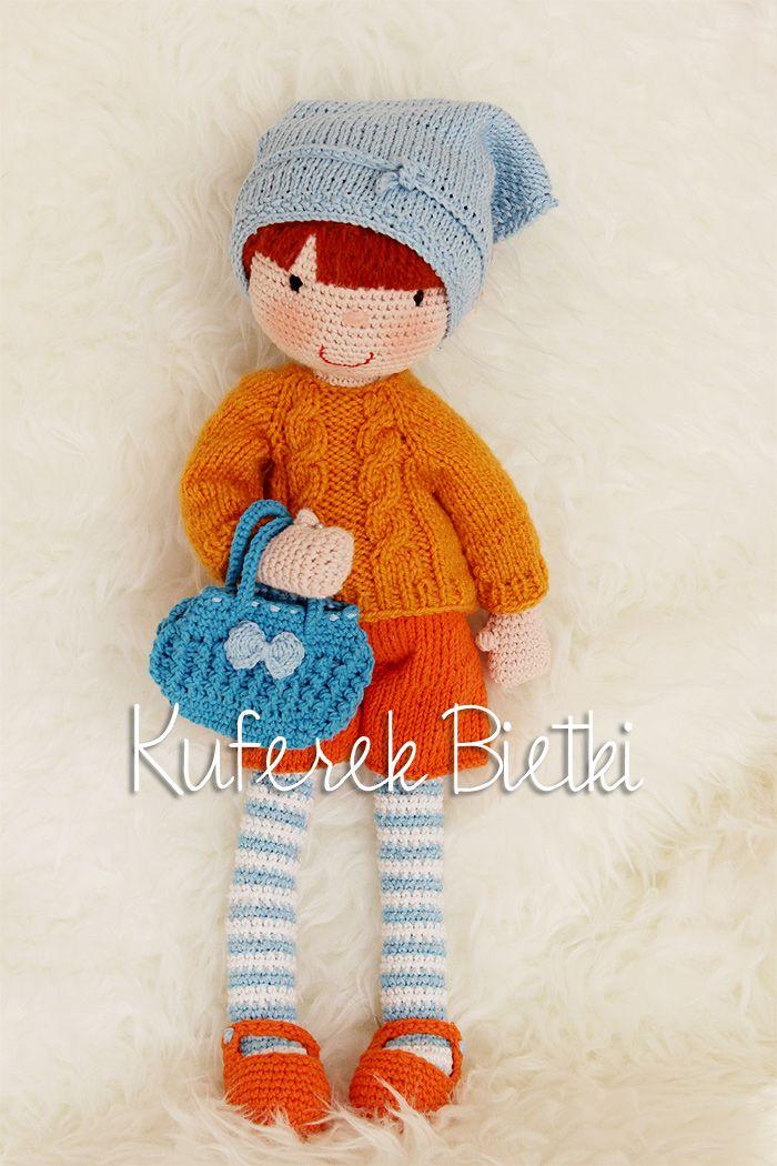 Hanka - lalka na szydełku/ Hanka, Gehäkelte Puppe