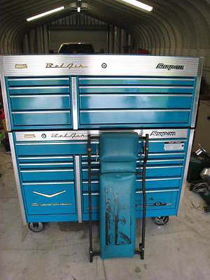 snap on limited edition chevy bel air tool box excellent. Black Bedroom Furniture Sets. Home Design Ideas