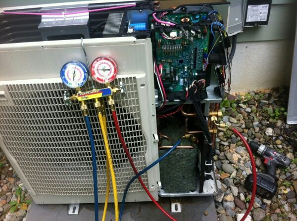 Refrigerant charging procedures for air conditioners, heat