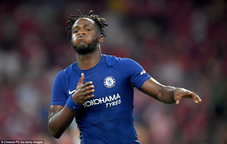 Arsenal 0-3 Chelsea: Michy Batshuayi bags sublime brace | Daily Mail Online