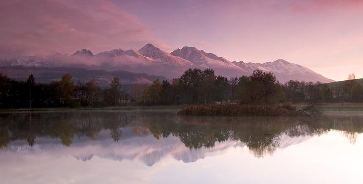 prekrásna panoráma Tatier