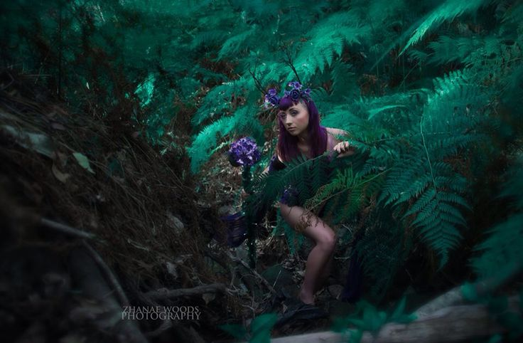 Rise of the Guardians of Mother Nature • Part Seven • Release •  makeup by Haley McGregor - model : ophelia creep - outfit, props and photo by Zhanae Woods Photography