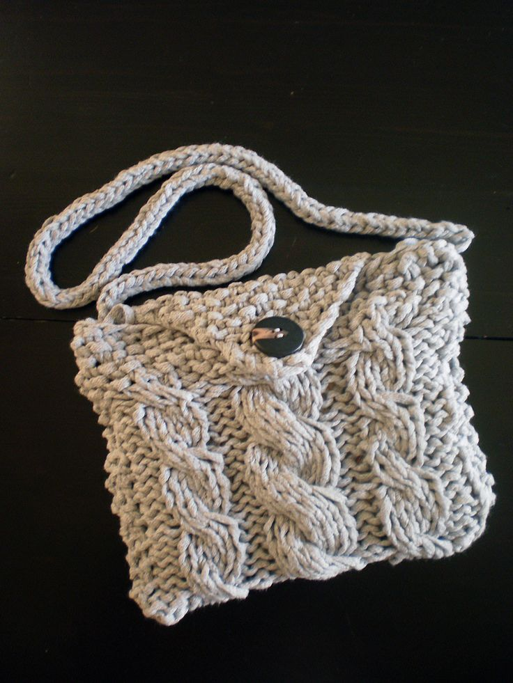 Knitted bag!
