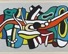 Fernand Leger: Regarded as the forerunner of the up and coming Pop Art style, Fernand Leger was a French painter, sculptor and filmmaker, working in his own form of cubism, modified into a figurative style