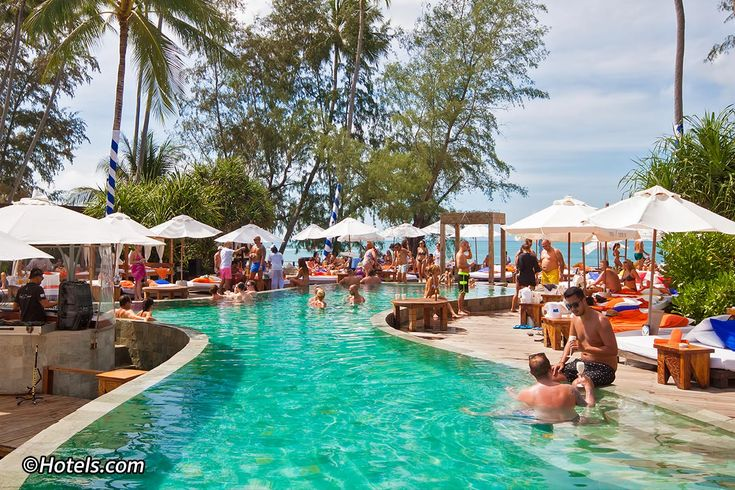 Nikki Beach Koh Samui is the premier high-end beach club and resort on the island. Located on the pristine Lipa Noi Beach on the west coast, it is the only club of its kind to enjoy stunning sunsets, best viewed from the luxurious poolside sun loungers and cabanas.