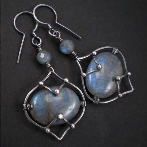 Kolczyki 'Gotycka komnata' | Biżuteria srebrna