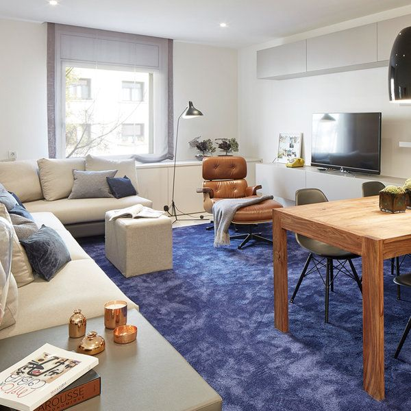La reforma integral planteada en esta vivienda barcelonesa responde a las necesidades de una pareja joven sin hijos que necesitaban ganar en funcionalidad. Los espacios se adaptan. La decoración los...