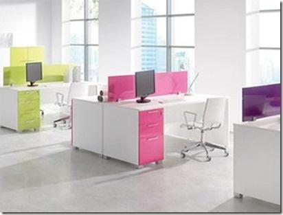 Esta es una buena idea para agregar color a la vida laboral.