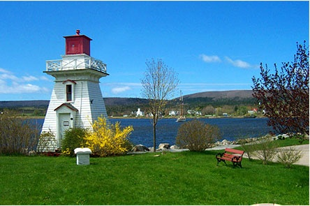 Beautiful coastal view with a lighthouse in Nova Scotia. Not sure whereabouts it is, so I will have to do the lighthouse trail one day to find it.