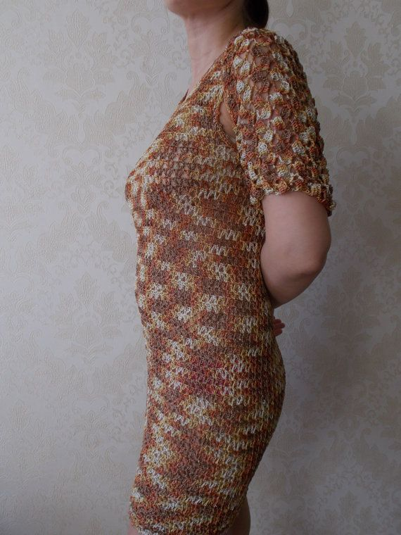 NEWEvening fishnet dress fishnet Bolero от Galchenkoknitting