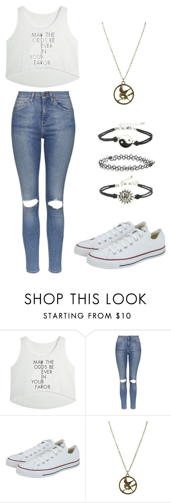 """Sunday"" by just-zoe-here ❤ liked on Polyvore featuring Topshop and Converse"