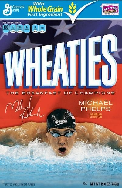MICHAEL PHELPS (2004) In 2004, Michael Phelps—the most successful Olympian of all time, with a total of 22 medals—made his first of two Wheaties box appearances. ...