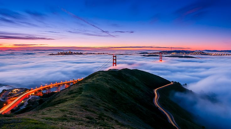 """Happy 75th Birthday"" by Joe Azure, via 500px.Golden Gate Bridge, Favorite Places, Golden Gates Bridges, The Bays, Sanfrancisco, Old Photos, 75Th Birthday, San Francisco, Backgrounds Image"