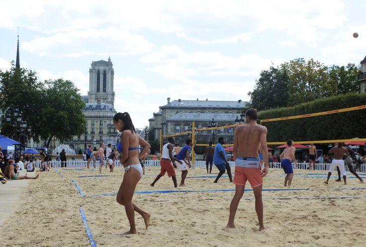 Beaches in Paris
