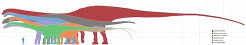 Dinosaurios mas grandes - Tendenzias.com