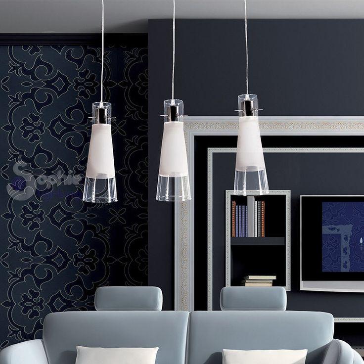lampada lampadario sospensione design moderno acciaio On lampadario design cucina