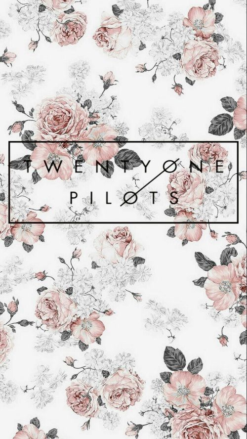twenty one pilots and flowers image