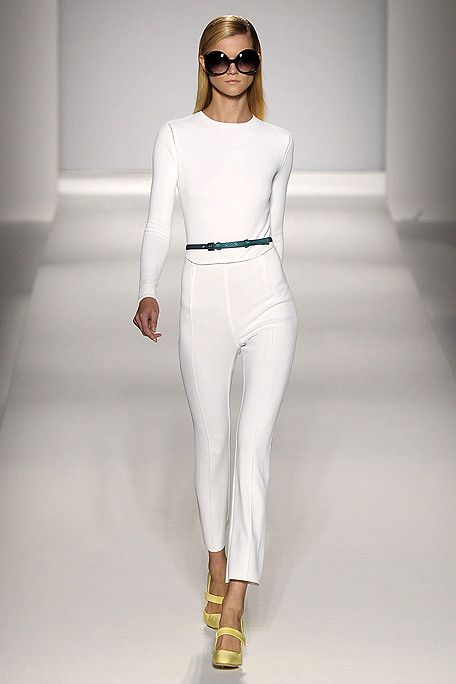 White chic, you can never go wrong with an all-white outfit.