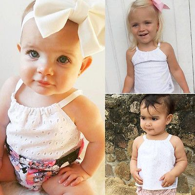 >> Click to Buy << HOT Toddler Baby Girl  Crochet Lace Blouse Newborn Kids braces Tank Top Tee #Affiliate