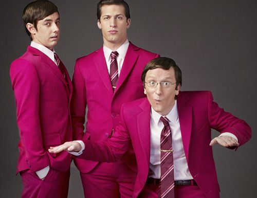 Andy Samberg, Akiva Schaffer and Jorma Taccone aka The Lonely Island, Chasing their dreams and doing the things they love, you guys are an example for an entire generation<3