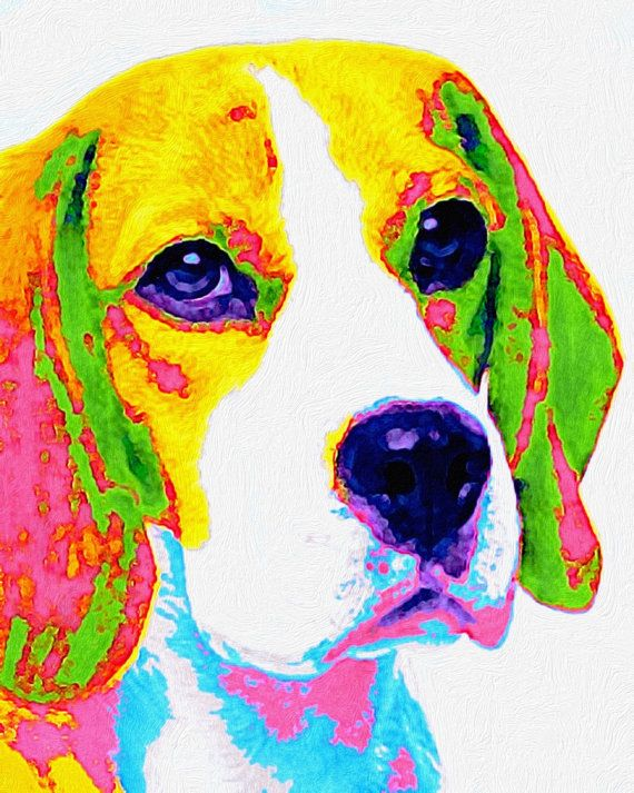 Hey, I found this really awesome Etsy listing at https://www.etsy.com/listing/193367030/beagle-pop-art-8x10