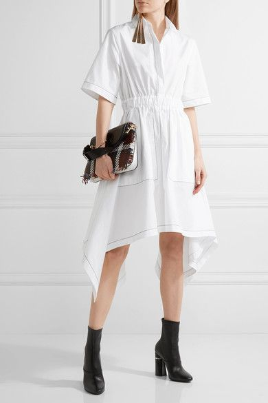 Shown here with: J.W.Anderson Dress, J.W.Anderson Shoulder Bag, 3.1 Phillip Lim Boots, J.W.Anderson Earring.